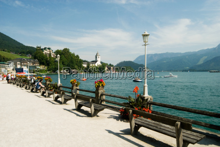 lake wolfgangsee austria