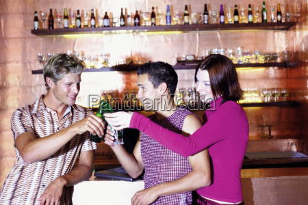 men and woman having drink at