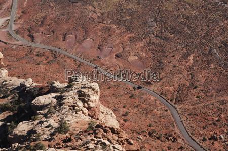 aerial view of highway 261 in
