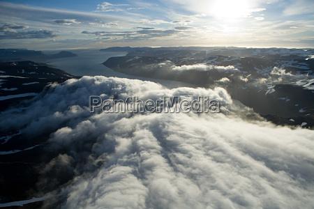 fahrt reisen wolke sonnenlicht dramatisch outdoor