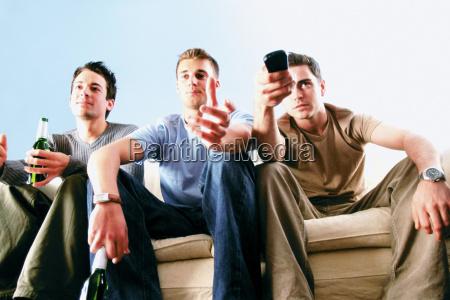 men having a drink
