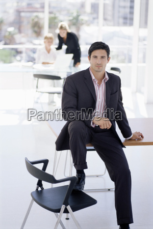 businessman in the office