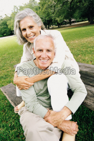 portrait of a senior couple in