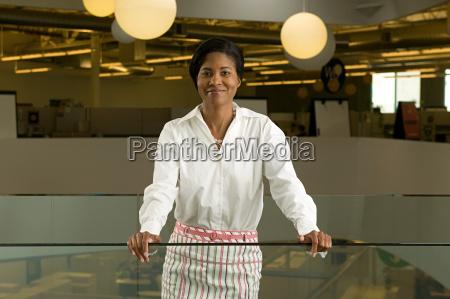 businesswoman in office