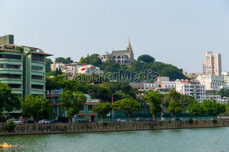 macao cityscape