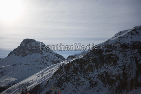 mountain scenery val disere france