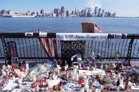 memorial site for the world trade