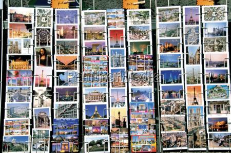 postcards paris france