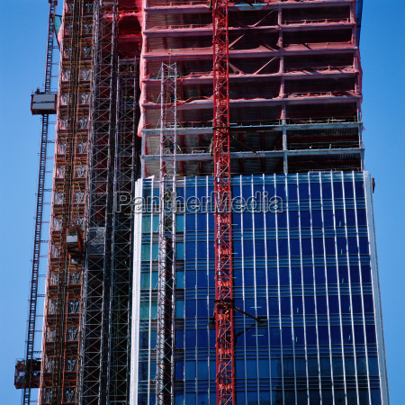 construction of multi storied building