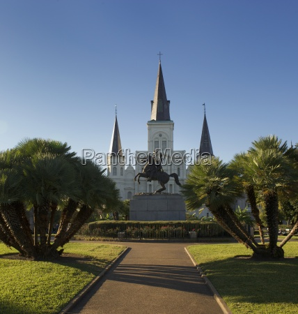 st louis kathedrale new orleans louisiana