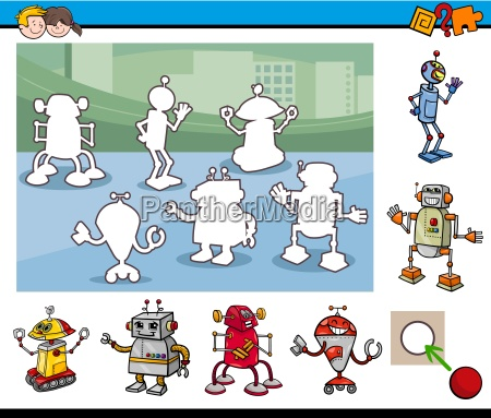 cartoon educational game