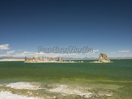 view of tufa towers at mono