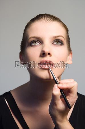 frau hand mode feminin weiblich gesicht