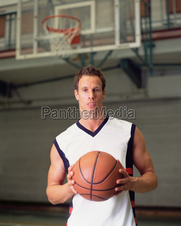 male basketball player