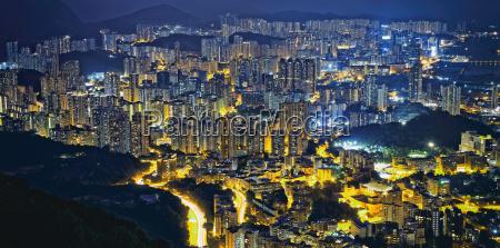 hongkong, moderne, stadt - 18890540