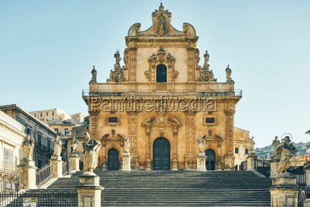 cathedral of st peter modica sicily