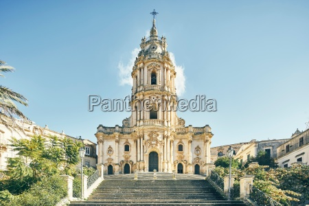 cathedral of st george modica sicily