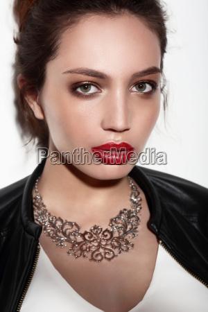 portrait fashion makeup