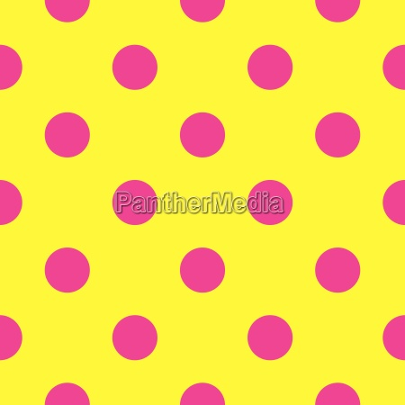 tile vector pattern with pink polka