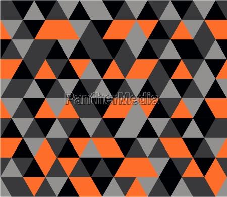 tile vector background with orange black