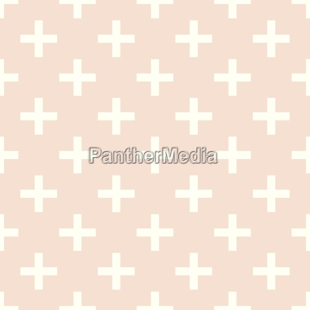 tile cross plus pastel vector pattern
