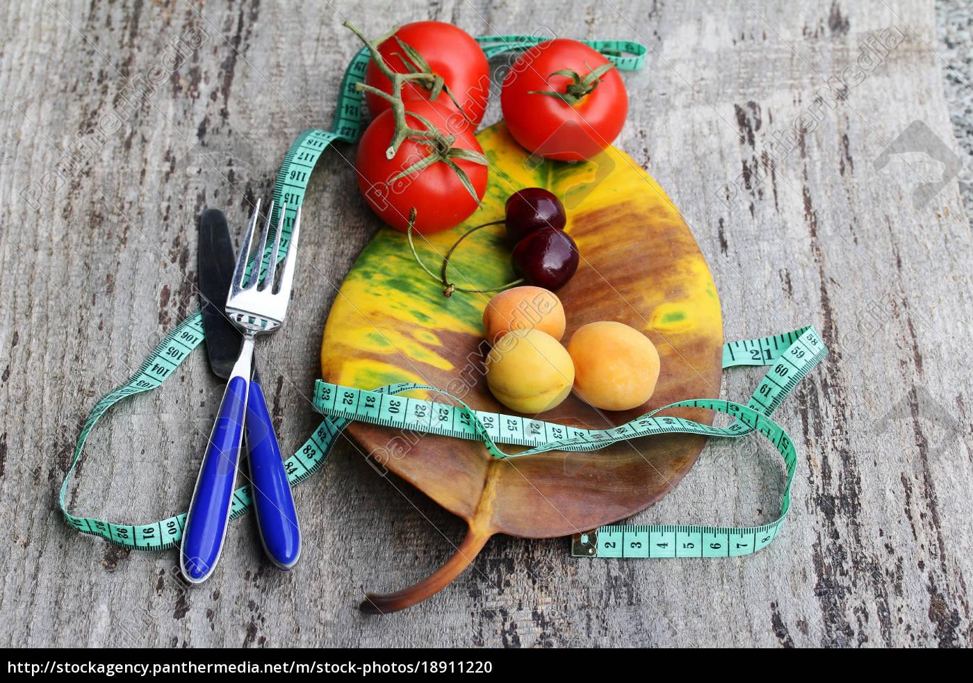 gesundes obst gemüse abnehmen