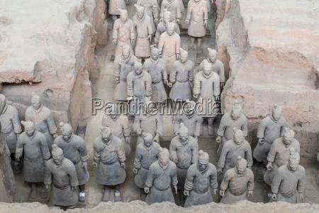 xian china terra cotta krieger