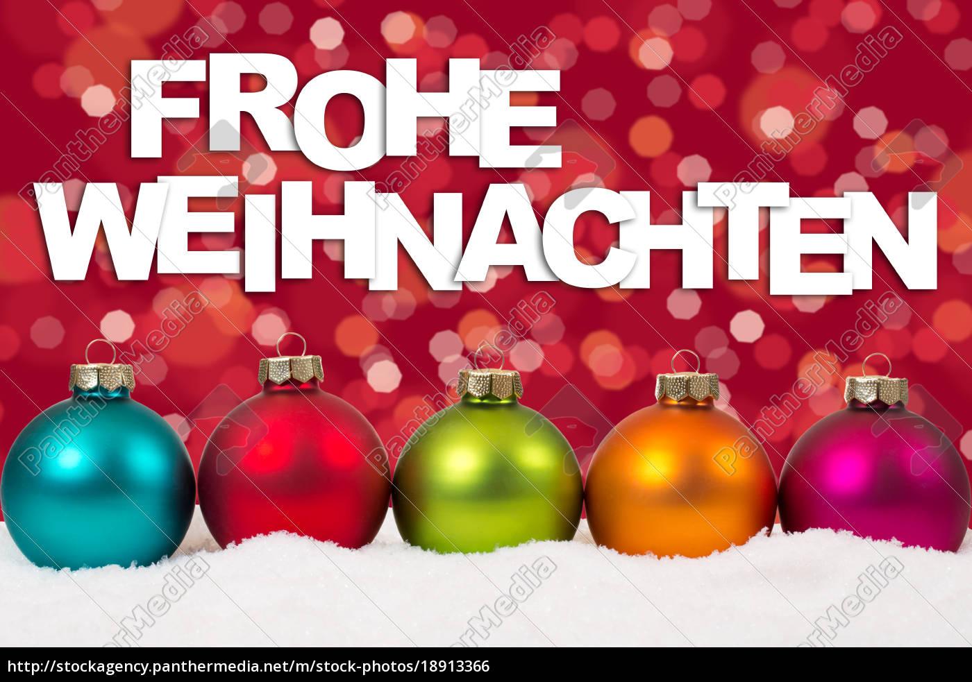 Karte Weihnachten.Stock Bild 18913366 Frohe Weihnachten Weihnachtskarte Karte Bunte