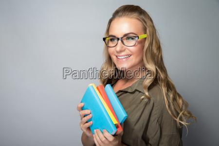 cute student girl