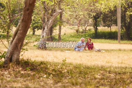 senior couple senior man and woman
