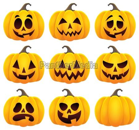 halloween kuerbisthema stellte 1 ein