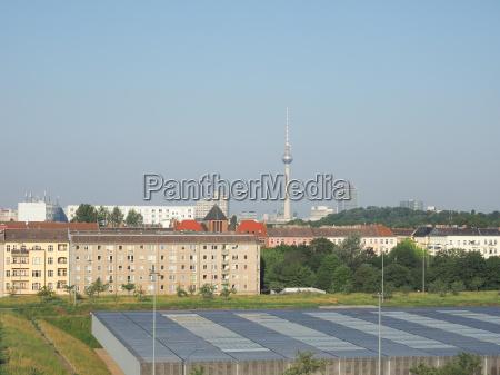 blick auf die skyline von berlin