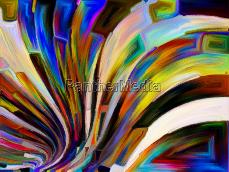 unfolding of hues