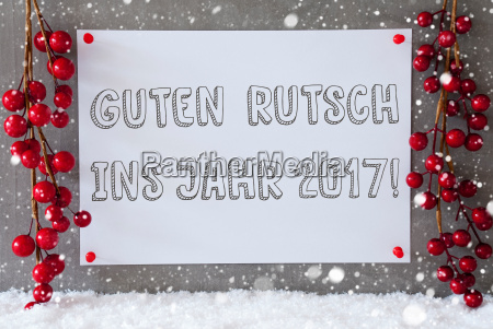 label snowflakes christmas decoration guten rutsch
