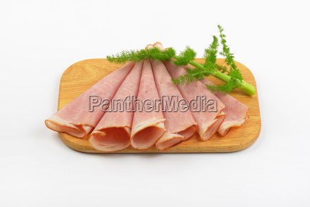 thin ham slices