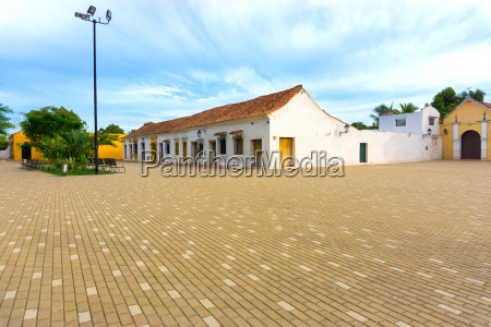 idyllic plaza in mompox colombia