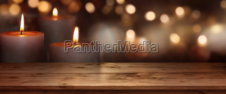 candles lights background
