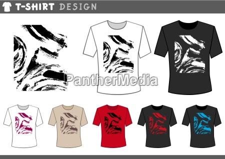 t shirt abstract design