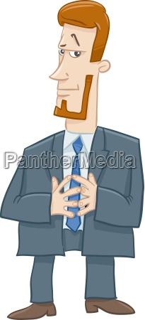 boss character cartoon illustration