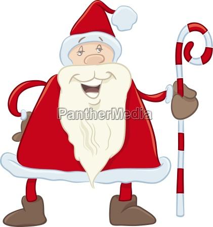 begruessung illustration weihnachtszeit christmas erfreut gluecklich