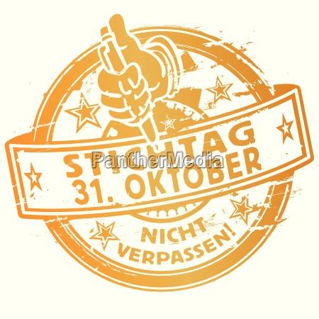 stempel stichtag 31 oktober