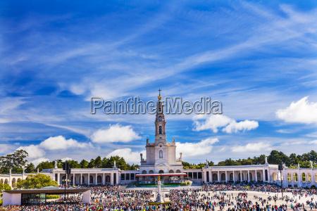 13 mai feier maria basilika der