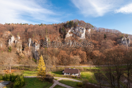park polen felsig felsige landschaftsbild landschaft