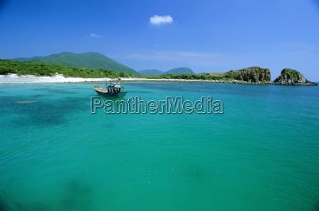 blaues wasser weg von ebony island