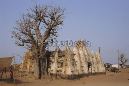 larabanga-moschee, ghana, afrika - 19019081