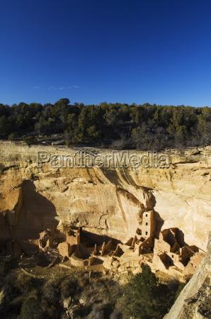 mesa top loop road ruins pueblo