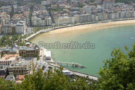 overview of san sebastian basque country