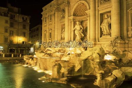 trevi fountain rome lazio italy europe