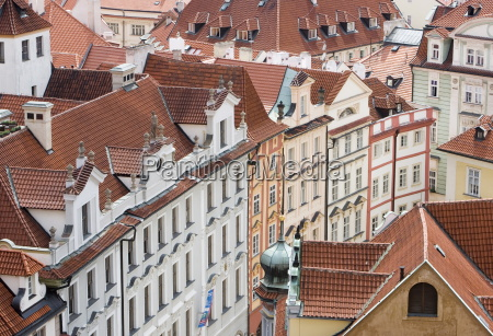 view of rooftops from town hall
