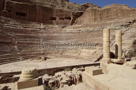 nabatean theatre petra unesco world heritage